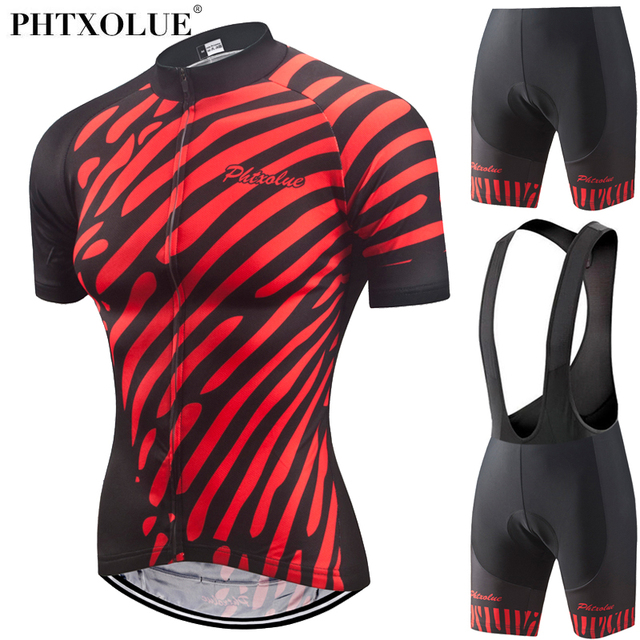 Phtxolue Women Summer Quick-Dry Cycling Jersey Set Maillot Ropa Ciclismo  Racing Bicycle Clothing MTB Bike Clothes Cycling Set 55fd9f871