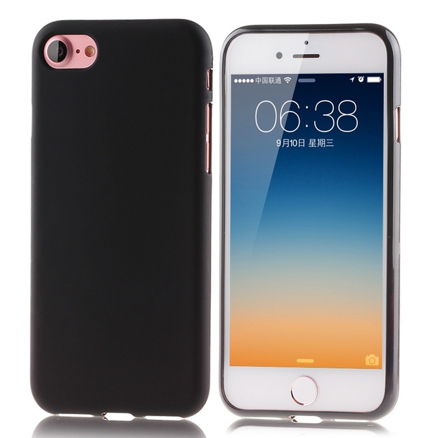 9f00bb1a811 matte Silicone TPU case For Coque Apple iphone 4 4S 5 5S 5SE 5C 6 6S Plus 7  8 Plus cases for Fundas ipod touch 5 6 phone Cover-in Half-wrapped Case  from ...