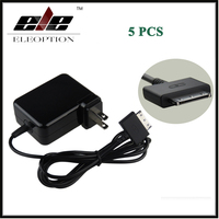 5 PCS High Quality 12V 1.5A Tablet PC Chargers AC Power Adapter for Acer W510 Iconia Tab W511 ADP 18TB EU US UK AU Plug