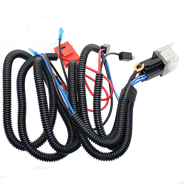 12V Horn Wiring Harness Relay Kit For Car Truck Grille Mount Blast Tone Horns_640x640 aliexpress com buy 12v horn wiring harness relay kit for car  at bayanpartner.co