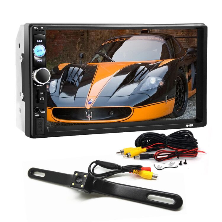 цена 2 DIN Car MP3 Player with MP4 MP5 Radio Video 7 inch for Nissan Sylphy /tiida/Qashqai/Teana /Livina /X-trail /Qichen D50 /R550