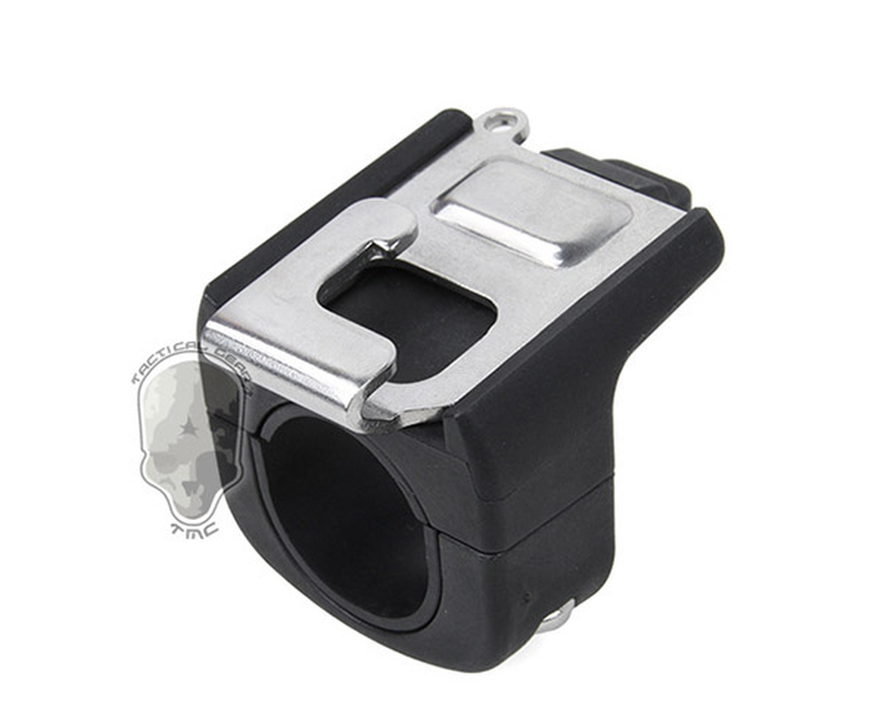 21-25mm Diameter Tube Holder Mount for Go Pro <font><b>WiFi</b></font> <font><b>Remote</b></font> Control Monopod Remoter Buckle for <font><b>Gopro</b></font> Hero 2018 7 6 5 Action Camera image