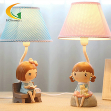 Korean cartoon cute creative fashion table lamp desk lamp Decorations girl birthday gift for study