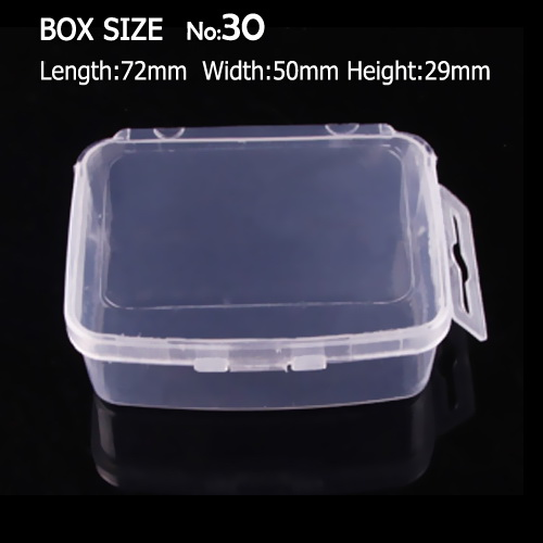 Square Box Storage for DIY Nail Art Jewelry Accessory beads Crafts , portable Organizer container case