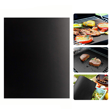 BBQ Grill Mats Non-Stick Mat Bake Barbecue Accessories  Grilling Heavy Duty NON-STICK Reusable Baking Cooking