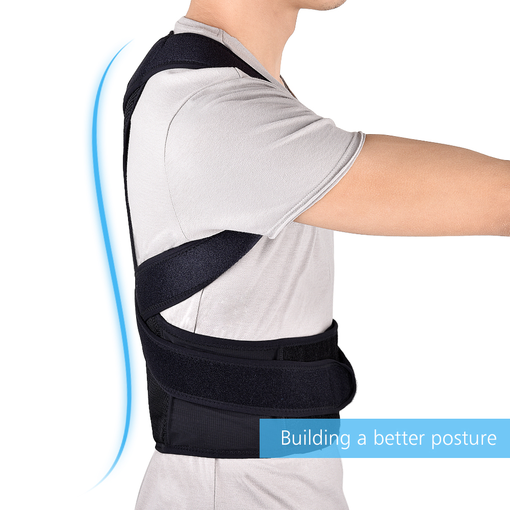 HTB1FRq9XkyWBuNjy0Fpq6yssXXaI - Back Posture Corrector Shoulder Lumbar Brace Spine Support Belt Adjustable