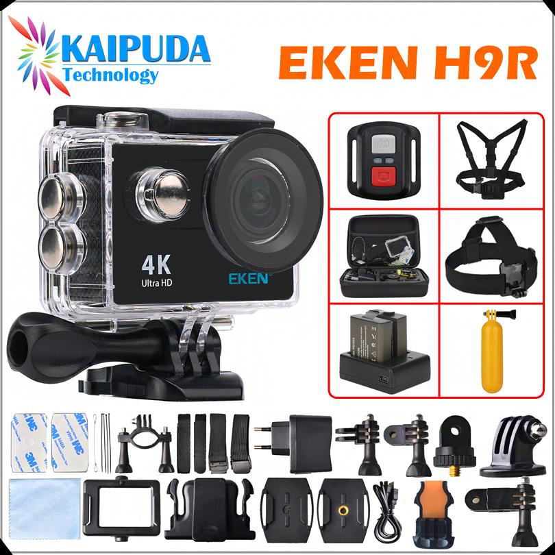 """Prix pour D'origine EKEN H9/H9R D'action caméra Ultra HD 4 K/25fps WiFi 2.0 """"170D sous-marine étanche Casque Sport caméra Came cam"""