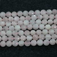 AAA Faceted Pink Crystak Ball Loose Beads, Gems Stone 15.5