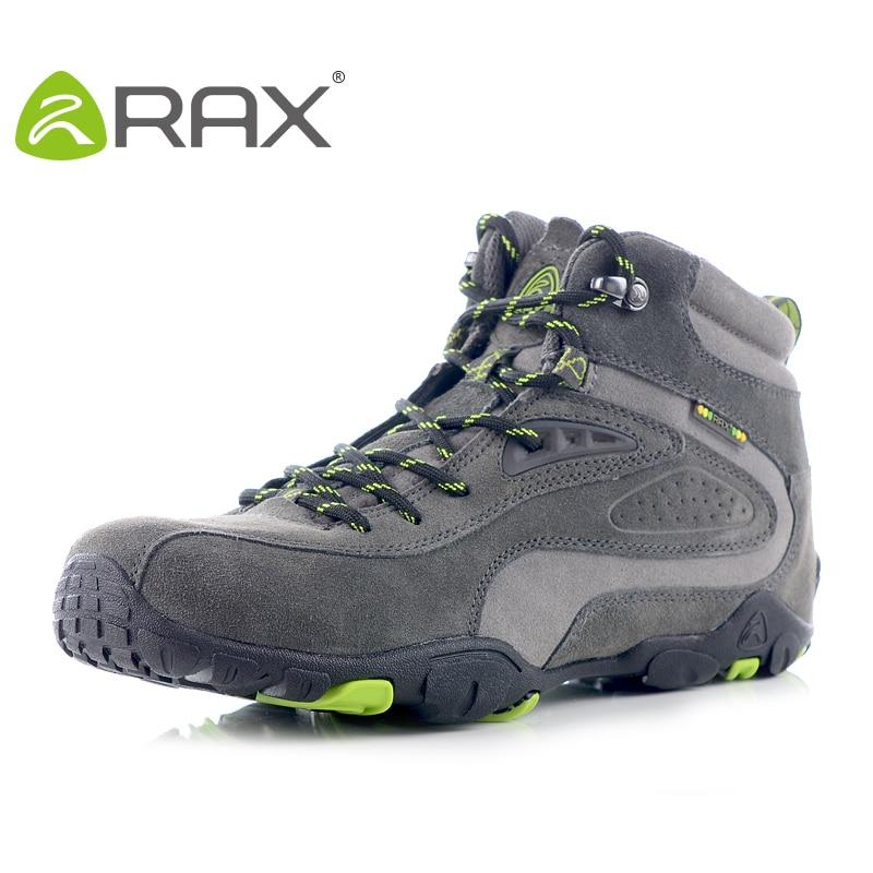 ФОТО RAX mountain trekking shoes men hiking shoes men waterproof ultra-light climbing shoes outdoor sports shoes men 33-5B141