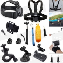 JACQUELINE for Floating Grip Mount Accessories for GoPro Hero 5 2 3+ 4 SJCAM SJ4000 SJ6000 EKEN H9R H9 SOOCOO for Xiaomi yi