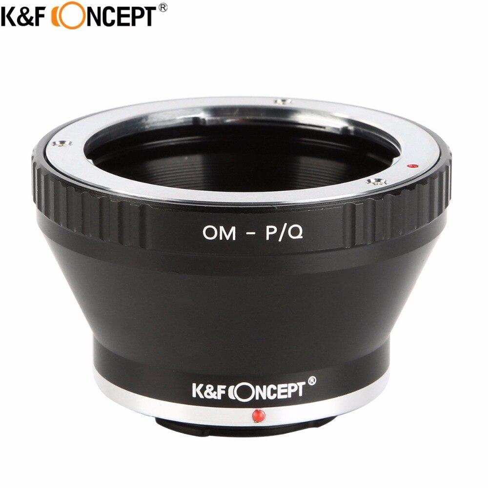K & F concept Om-P/Q Objetivos para cámaras adaptador de montaje ...