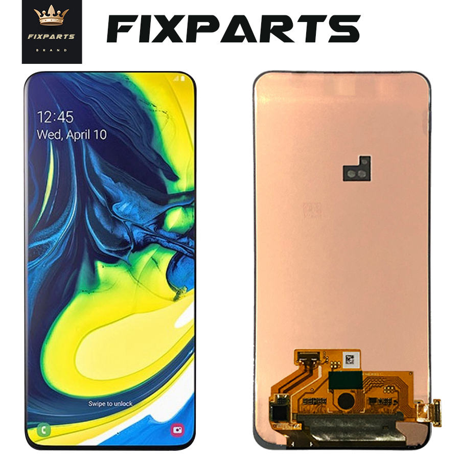 ORIGINAL SUPER AMOLED LCD for SAMSUNG Galaxy A80 A805 Display Touch Screen Digitizer Assembly A80 2019
