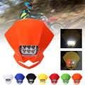 SPEEDPARK uniwersalny Motocross reflektory led lampa Enduro dla KLX KDX KTM RMZ DRZ DR XR YZ CR