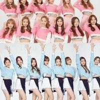 WXCTEAM Gfriend Dress Suit Korean Girl Group Same Paragraph Chic Style School Girl Costume Cheerleader Cosplay School Uniform