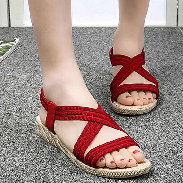 De Para Con Elástica Color 2018 Casuales Sólido Playa Tiras Nuevas Correa Mujer Y Sandalias Verano Bs88 Zapatos qjzMVGLpSU