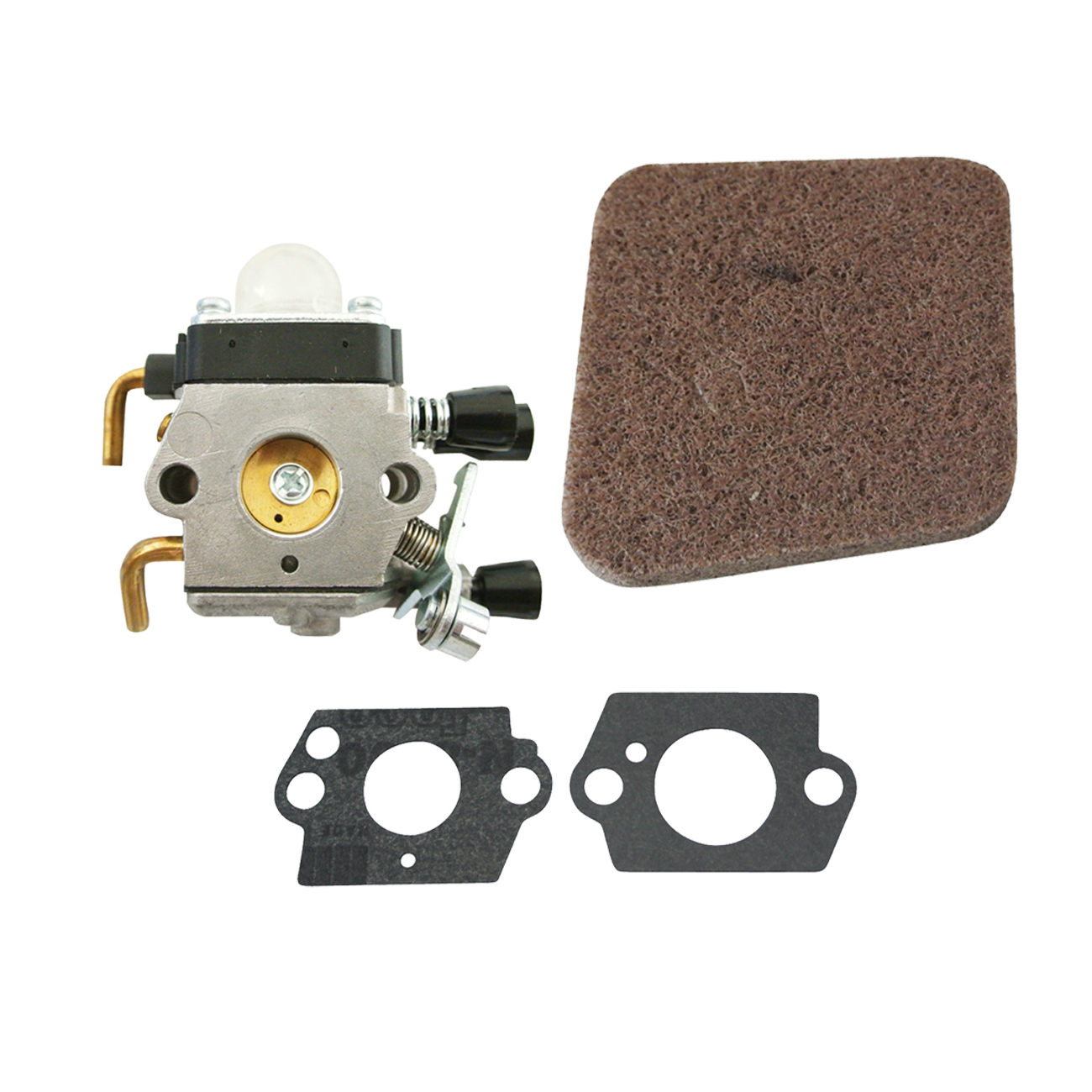 <font><b>Carburetor</b></font> & Gasket & Air Filter <font><b>For</b></font> <font><b>Stihl</b></font> <font><b>FS38</b></font> <font><b>FS45</b></font> FS46 Trimmers image
