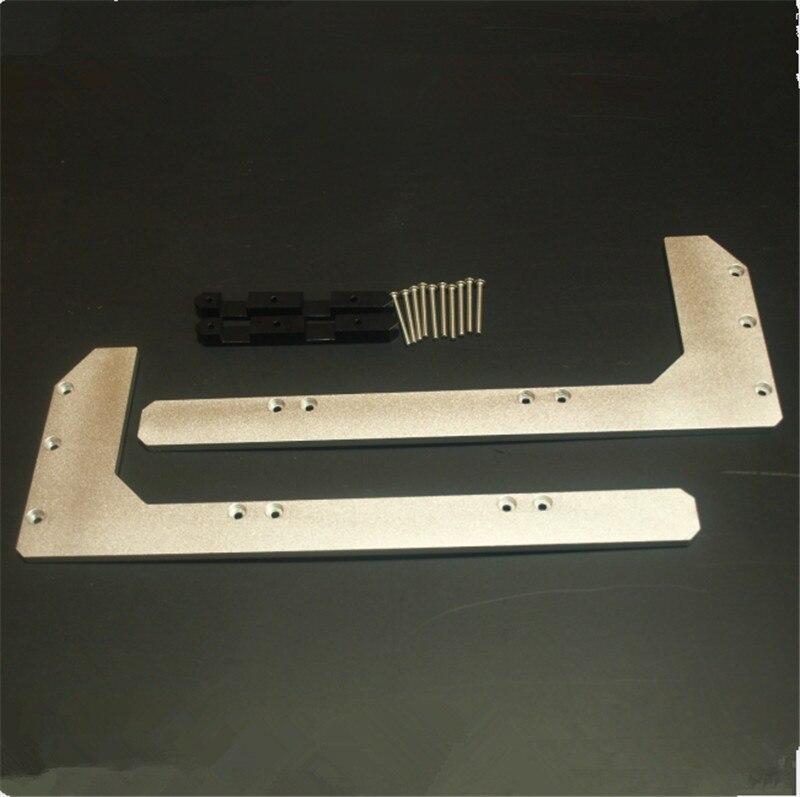 . Replicator 2 Aluminum Arm Stiffeners strong Aluminium arm kerbot replicator CTC Wanhao FlashForge 3D printer parts