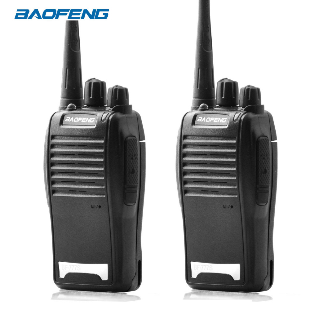 2Pcs Baofeng BF-777S Walkie Talkie 16CH Portable Radio Station UHF400-470MHZ 1