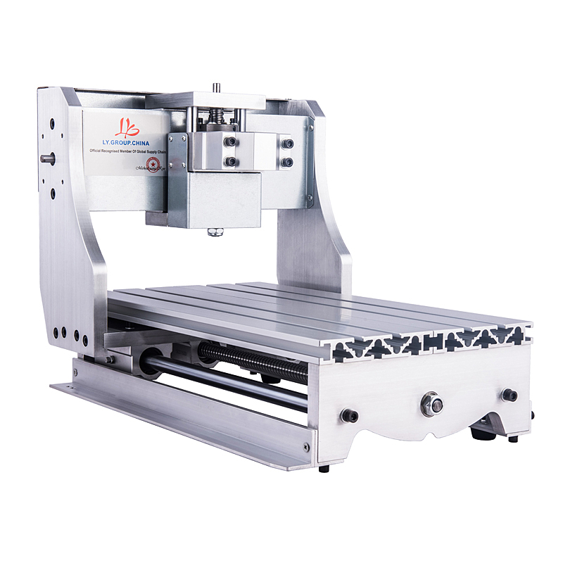 CNC 3040Z bricolage Kit de cadre de lit avec vis à billes unités d'entraînement axe optique et roulements pour mini routeur de CNC