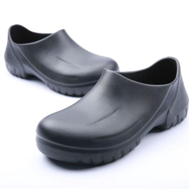 Hotel Kitchen Men Chef Shoes Super Anti-slip Kitchen Work Shoes Cook Sandals Clogs Restaurant Cook Non-slip Slippers