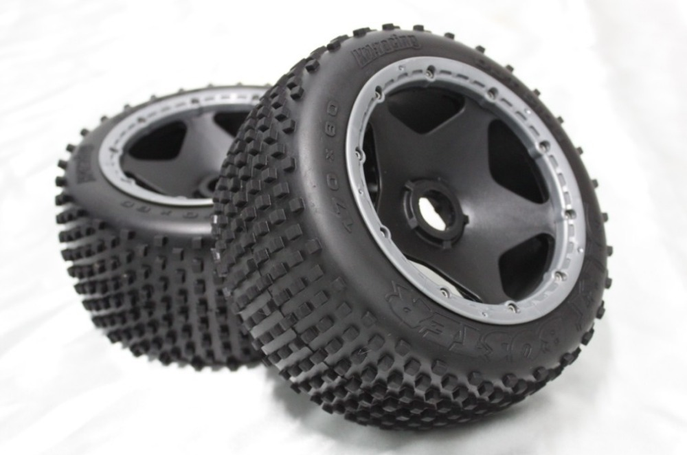 baja 5B off road rear set ( only 2pc rear) baja 5b off road front wheels set only 2pc front
