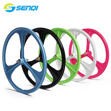 700C Magnesium Alloy Bicycle Rim Bearing Chromium Molybdenum Steel Shaft Core Fixed Gear Road Bike Rim BZO003