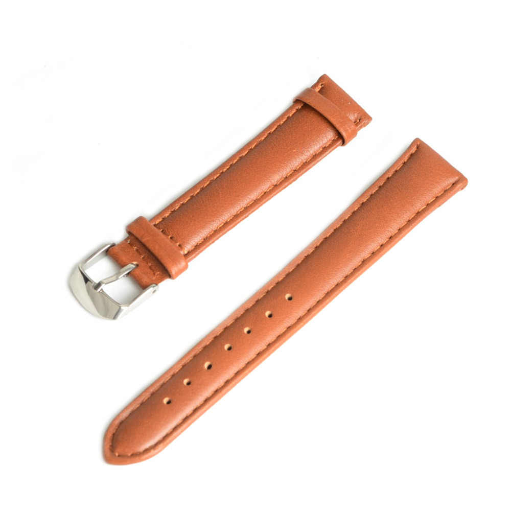 Watch Band Genuine Leather straps 14 16 18mm 20mm 22mm 24mm watch accessories men High Quality Brown color Watchbands