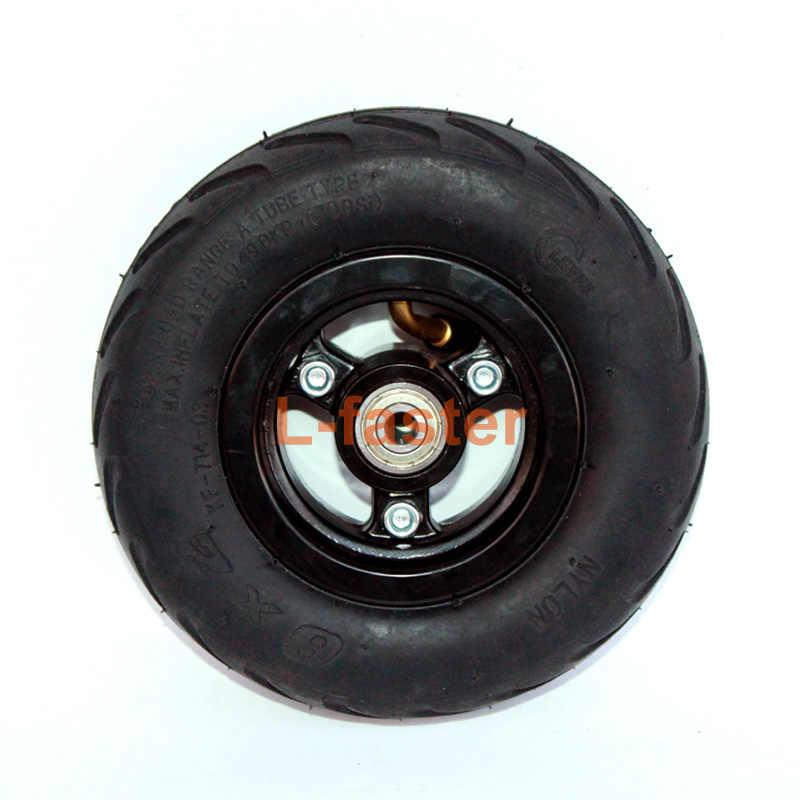 """6X2 инфляция колесо Применение 6 """"шин легкосплавные диски 160 мм пневматические шины электрический самокат F0 пневматическое колесо тележка воздушное колесо"""