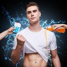 Анти-грязные мужские футболки водонепроницаемые анти-пятен гидрофобные Дышащие анти-обрастающие быстросохнущие футболки с коротким рукавом футболки
