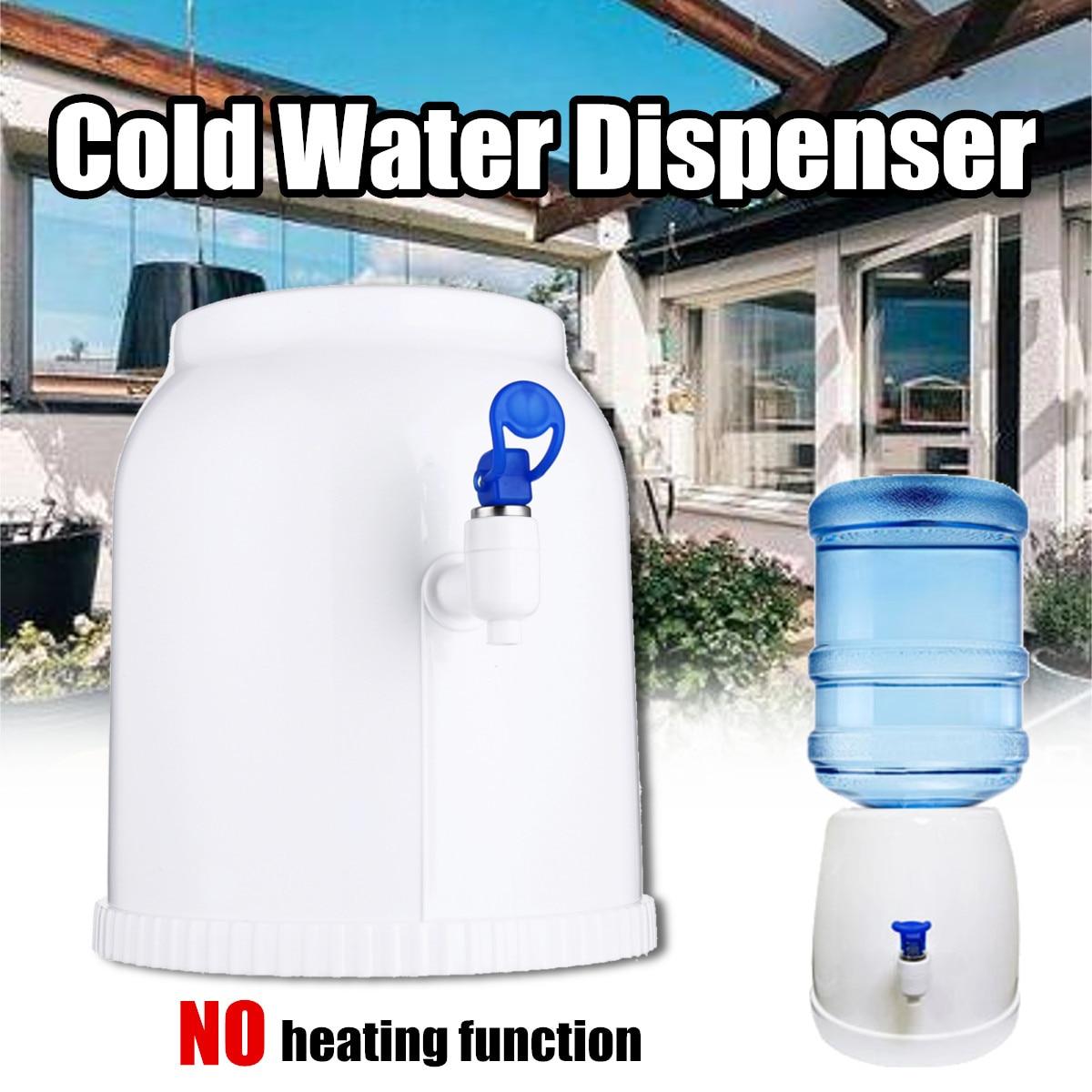 Desktop Cold Water Dispenser Gallon Drinking Bottle Portable Countertop Cooler Drinking Faucet Tool Press Water Pumping Device