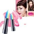 New Moisturizer Long Lasting Waterproof Matte Lipstick Stick Lipgloss Two-Colors Gradient Lipstick M01669