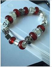 Más nuevo Delta Sigma Theta Sorority pulsera del grano de la joyería del brazalete DST joyas pulsera
