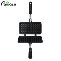 Non Stick Waffle Mold Cake Mold Waffles Pan DIY Muffins Cookie Mould Bakeware Stove Waffle Maker Machine Iron Bakeware Tools