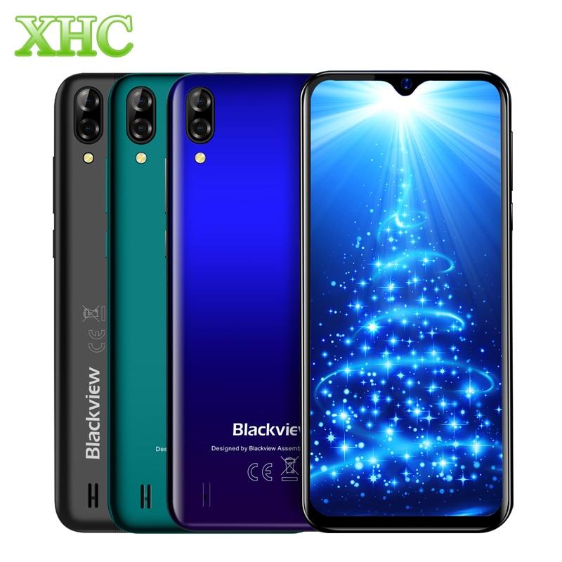 Blackview A60 Android 8.1 Smartphone Quad Core 4080mAh Cellphone RAM 1GB ROM 16GB 6.1 inch Dual Camera 3G Dual SIM Mobile Phone