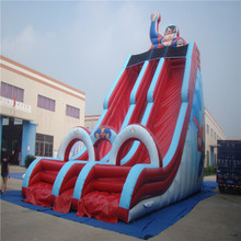 attractive cartoon inflatable slide bouncer YLW-187