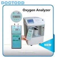 Цифровой ЖК дисплей Дисплей Портативный анализатор кислорода концентратор кислорода чистоты анализатор кислорода Анализатор Плотности