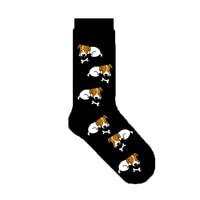 Джек Рассел терьер Носки с собакой носки с расцветкой «Кости» женщин 20/50/100 пар