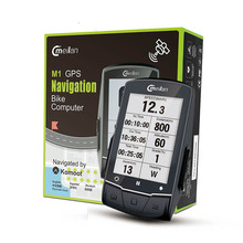 GPS Bicycle computer M1 bike navigator turn by can connect with cadence/heart rate motion/power meter(not include)