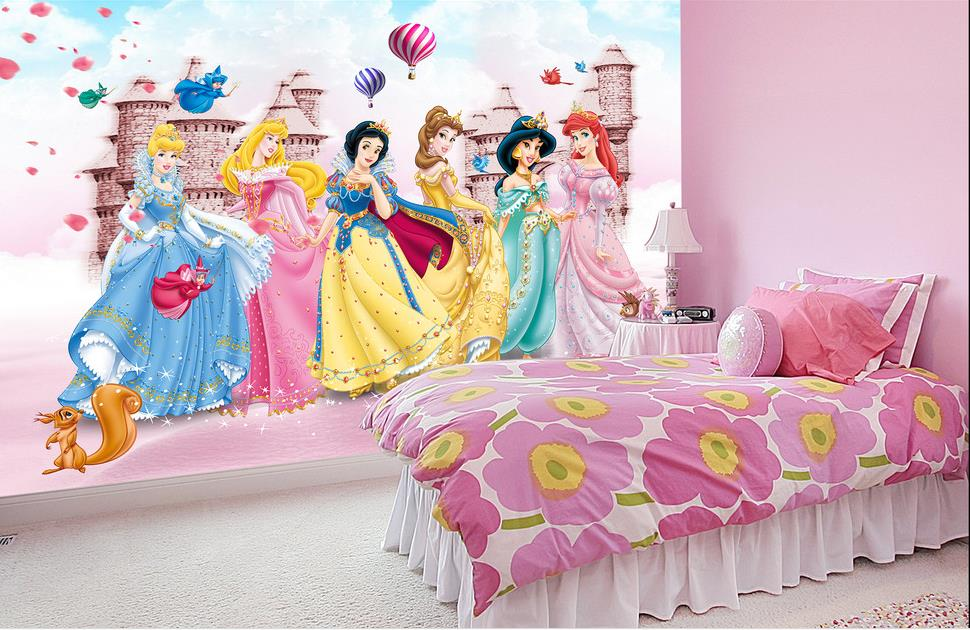Popular barbie wallpapers buy cheap barbie wallpapers lots for Barbie princess giant wall mural