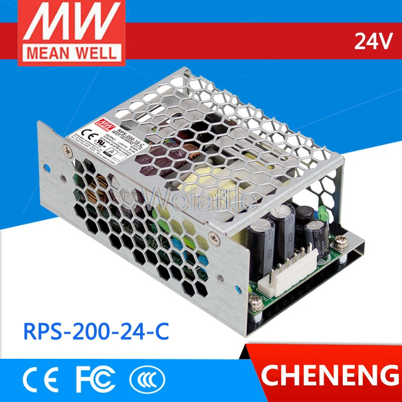 Mean Well Original RPS-200-12-C Single Output Green Medical Type Power Supply 12V 16.7A 200W
