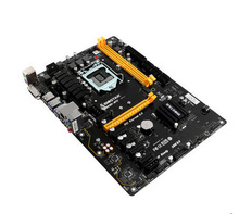 Free Ship Original New 32G TB250-BTC 1151/Full Solid-state kilomega Motherboard Support 6 Graphics Card for Miner ETH TB250 BTC