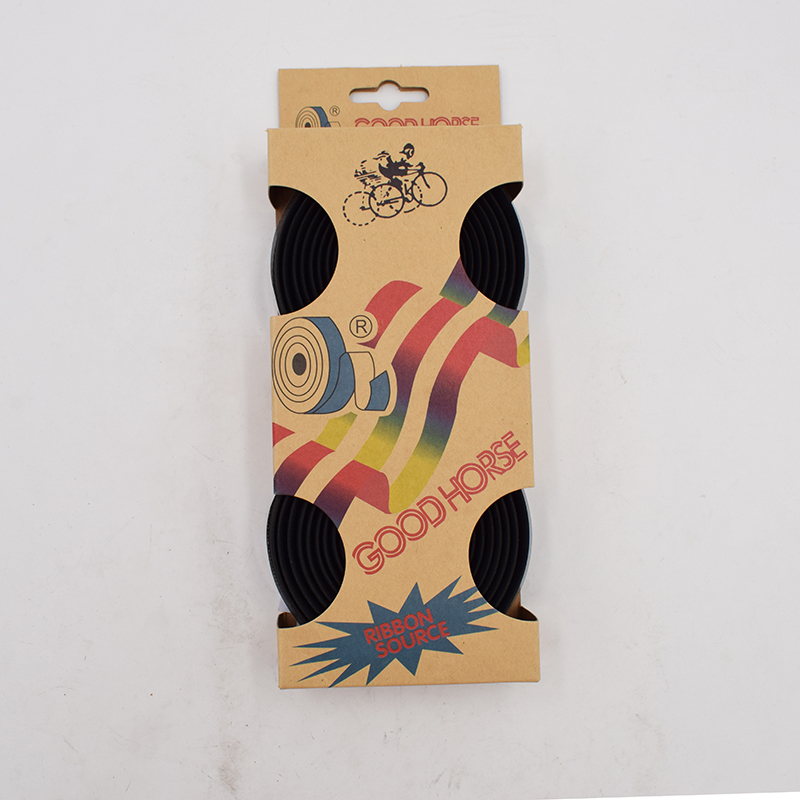 PROMEND Road Bike Bicycle Handlebar Tape Soft EVA Sponge Leather Tape Waterproof