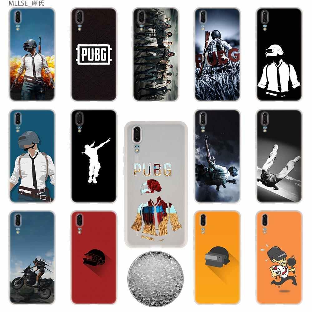 TPU Del Telefono Della Copertura di Custodie Morbido Per Huawei P40 P30 P20 pro P10 Più P9 P8 lite 2017 samrt Z 2019 pubg adesivi mobile