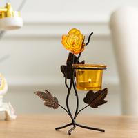 Decor Candle Holders dinner party wedding centerpieces animal rose Candlesticks Decorative for Home Decoration
