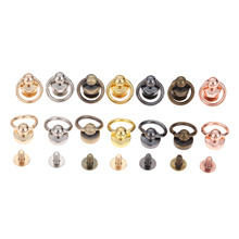 Clothing-Bag Rivet Handbag Decorations Studs-Button Swivel-Screw Nail-Buckle Metal-Bags