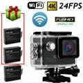 Free shipping!SJ8000 Full HD 4K 24FPS WiFi Waterproof Sport Action Car Camera DVR+Batteries