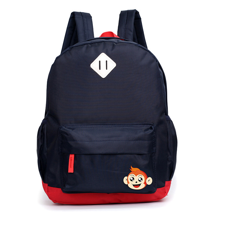 Boys Backpack For Kindergarten Cartoon Monkey Nylon Children Backpacks Kids Primary School Bags For Baby Girls