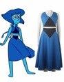 Steven Universo Lapislázuli Azul Vestido Diario Desgaste Cosplay Traje de Halloween Navidad Regalo de Las Mujeres Niñas de Bola Vestido de Fiesta