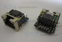 1 قطع أنثى rj45 مقبس صالح لينوفو y560p y560 y570 series laptop motherboard منفذ الشبكة(China)
