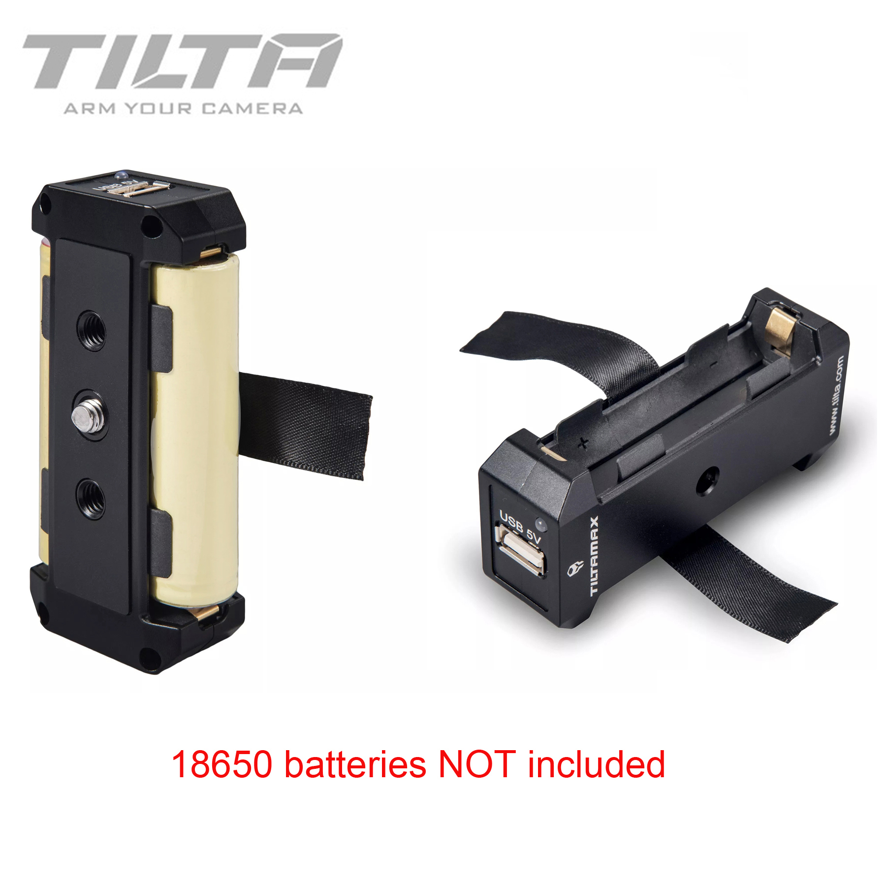 Tilta WLC T04 BP 18650 18650 Power Supply Box with USB 5V and DC 8V Power